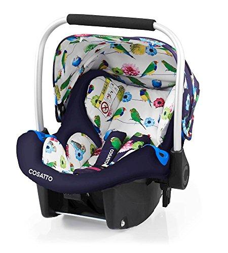 Preisvergleich Produktbild Cosatto Port - Baby Autositz 0-13 kg - Sicherheit + Schutz Für Die Kleinsten - Babyschale / Kindersitz Gruppe 0 - Erstausstattung Für Isofix + 3 Punkt Gurt, Eden