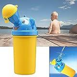 EchoAcc® Portátil para ir al Baño del Niño del Bebé Urinario Camping Entrenamiento Insignificante para los Muchachos (Amarillo)