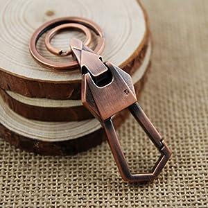 Panegy - Llavero Anillo Cadena Colgante de llaves Vintage Clásico - color al azar de Panegy