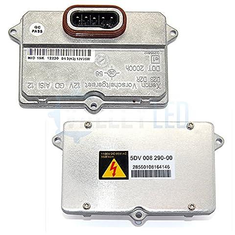1x New Hella (Replica) 5DV 008290–0000829000D2S D2R Xenon HID Scheinwerfer Ersatz Einheit Vorschaltgerät (Chrysler Pacifica Scheinwerfer)