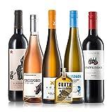 GEILE WEINE Weinpaket MÄNNERKISTE | Bester Weißwein, Rosé und Rotwein der jedem Mann schmeckt | Ideal als Geschenk zu Weihnachten