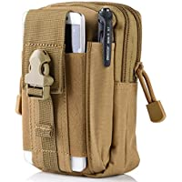 Erasky® Marsupio Tattico/borsa girovita/ Borsa multi-funzionale /marsupio per attrezzatura da