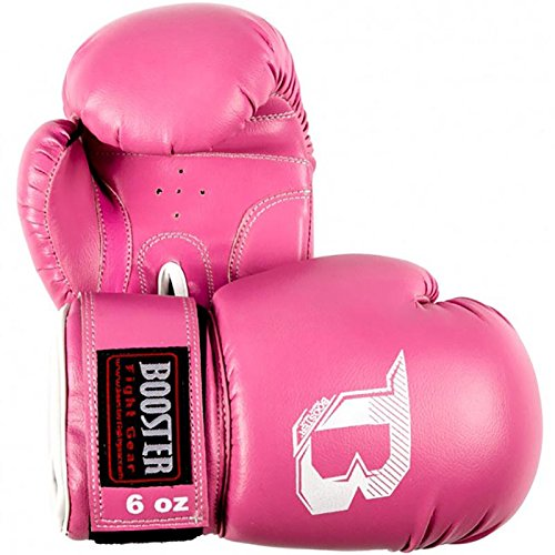 Booster Boxhandschuhe, BT-Kids, schwarz-pink, Gloves, Kinder, MMA, Muay Thai Size 8 Oz