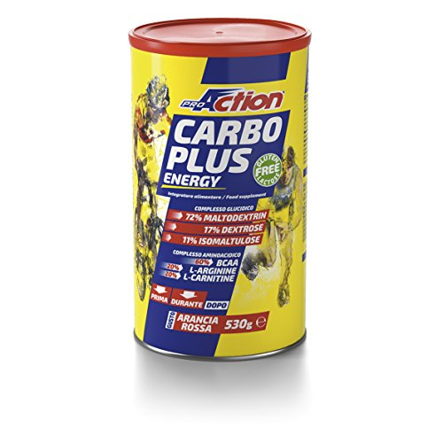 Proaction Carbo Plus Energia Arancia Rossa - 530 g