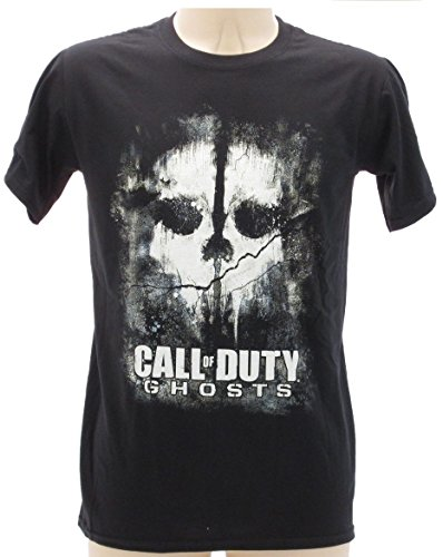 t-shirt NERA CALL OF DUTY GHOST - maglietta originale - spedita da tshirteria XS S M L XL