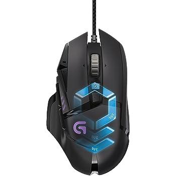 Logitech G502 Mouse da Gioco Proteus Spectrum, Regolazione RGB, 11 Pulsanti Programmabili