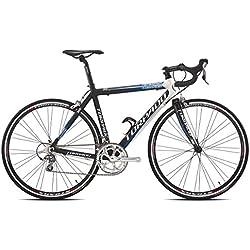 Torpado Temeraria bicicleta de carrera de aluminio y carbono 10 Velocidades talla 51 negro y blanco (carrera de carretera)