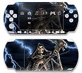 #10: Sony Psp Slim 3000 Decal Skin The Reaper Skull