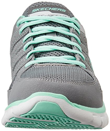Skechers Damen Synergy-Look Book Sneaker Grey (Gymn)