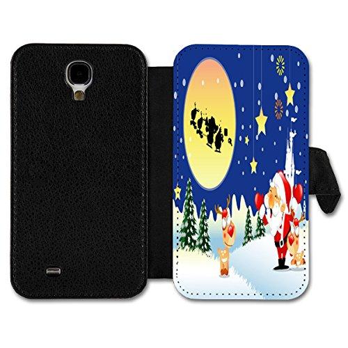 Book Style Flip Handy Tasche Case Schutz Hülle Schale Motiv Etui für Apple iPhone 6 - 4,7 Zoll - A17 Design12 Design 2