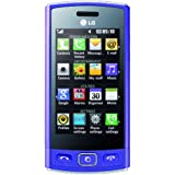 LG GM360 Viewty Plus Smartphone (7,6 cm (3 Zoll) Display, Touchscreen, 5 Megapixel Kamera) lila