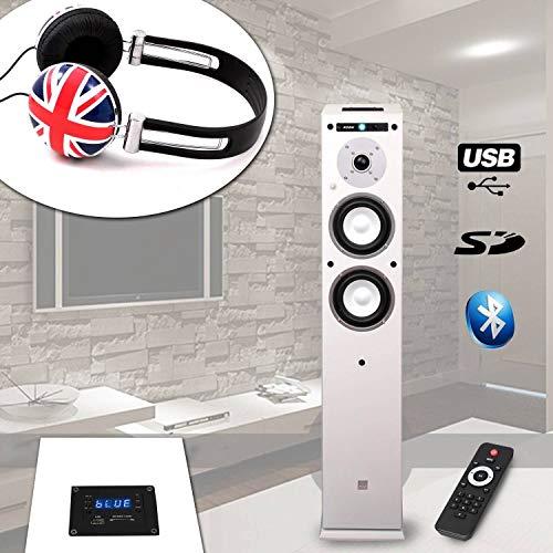 Spalte koda-center-wh USB/Bluetooth-/60W + Kopfhörer soundlab-a081British