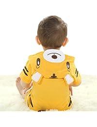 JIAJIA - Body - Imprimé Animal - Manches Courtes - Bébé (garçon) 0 à 24 mois
