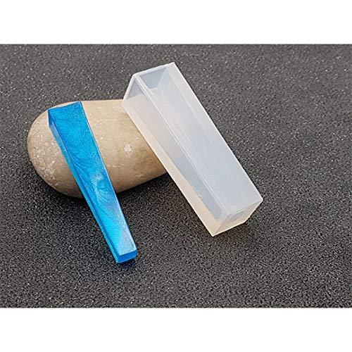creafirm-Silikonform Tube rechteckig, 49x 14mm Modell 2Für Kreationen aus Kunstharz Fimo -