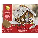 Wilton Assembled Gingerbread House Kit-Petite