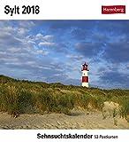 Sylt - Kalender 2018: Sehnsuchtskalender, 53 Postkarten - Uwe Steffens