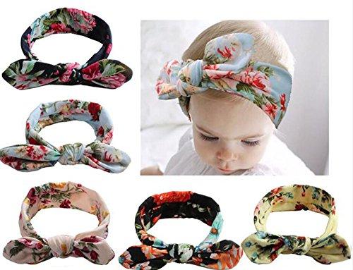 (Tukistore Baby Stirnbänder Baby Mädchen Neueste Turban Stirnband Kopf Verpackung Haarband Head Wraps Kostüm Fotografie Props)