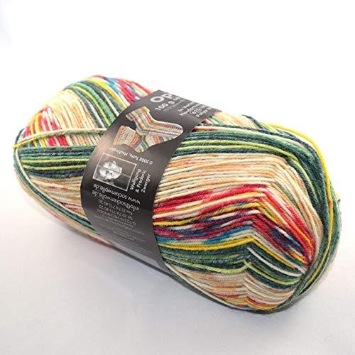 OPAL Sockenwolle Hundertwasser II - Winterbild Polyp Wintergeist
