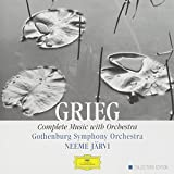 GRIEG: Complete Music with Orchestra: GSO / Järvi (DG Collectors Edition)