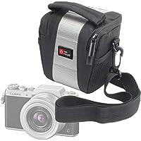 DURAGADGET Petit étui de protection pour FujiFilm FinePix XP80, XQ2 et X-A2, Panasonic Lumix DMC-GF7 appareils photo numériques et leurs accessoires