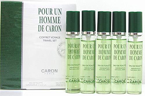 Caron Pour un Homme de Caron Travel Set Eau de Toilette Spray 5 x 15 ml -