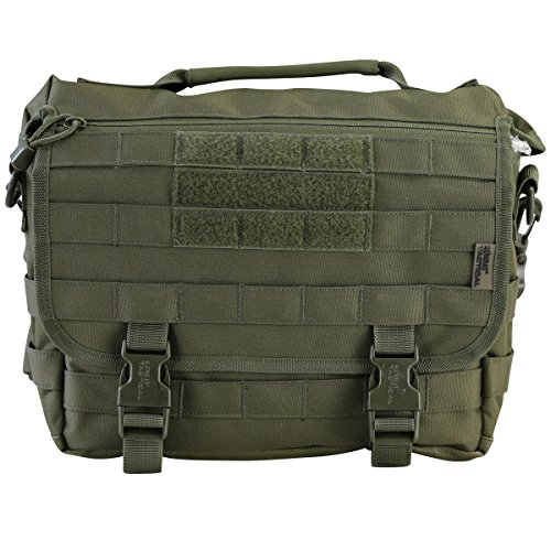 Kombat UK Small Messenger, Borsa Unisex, Olive Green, Taglia Unica Olive Green