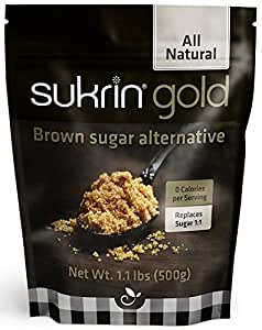 Sukrin Gold All Natural Stevia Sweetener Brown Sugar Alternative 500 g