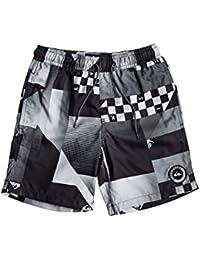 Quiksilver Boys' Checkremixyth15 B Jamv Kvj6 Swimming Shorts