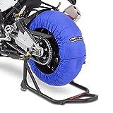 Motorrad Reifenwärmer ConStands Blau Superbike 60-80 °C Set