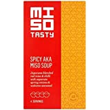 Miso Tasty Aka Picante Sopa De Miso 4 X 20g (Paquete de 6)