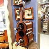 Madaye Holz Europa und USA Vertikal Weinregal 60*16*20cm