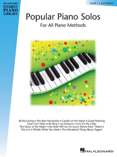 Hal Leonard Student Piano Library: Popular Piano Solos Level 1