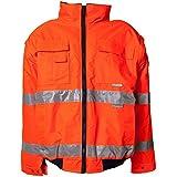 Planam Pilotenjacke Warnschutz, Größe 4XL in orange, 1 Stück, 2043068