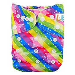 LBB(TM) Baby Resuable Washable Pocket Cloth Diaper,Stars