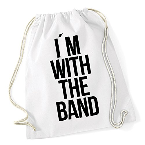 I`m With The Band Sac De Gym Blanc Certified Freak