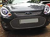 #7: SDR Chrome Plated Front Grill for ford Figo 2012 onwards, Large (Multicolour, WP_FIG_GRILL_02)