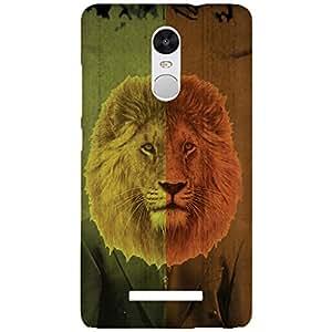 URBAN KOLOURS Original Designer Printed Hard Case Back Cover for Xiaomi Redmi Note 3 (Lion Man)