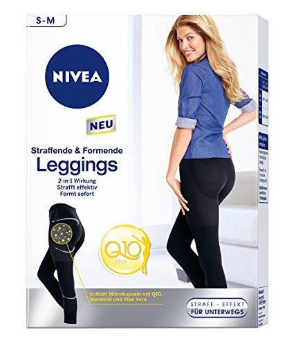 Nivea Body Leggings Q10 S y M, 1er Pack (1 x 1 pieza)