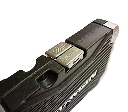 Werkzeugkoffer – Koffer mit Ratschmaulschlüssel und 3/8'' Einsätze 20 tlg, Einsätze 15 tlg 8-22mm und 5 Zubehöre, Koffer mit 3/8''Einsätzen und Zubehören 20 tlg, Werkzeugsatz Ratschmaulschlüssel/Einsätze (20 tlg) - 6