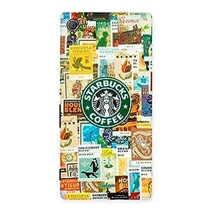 Coffee SB Multicolor Back Case Cover for Xperia Z3 Plus