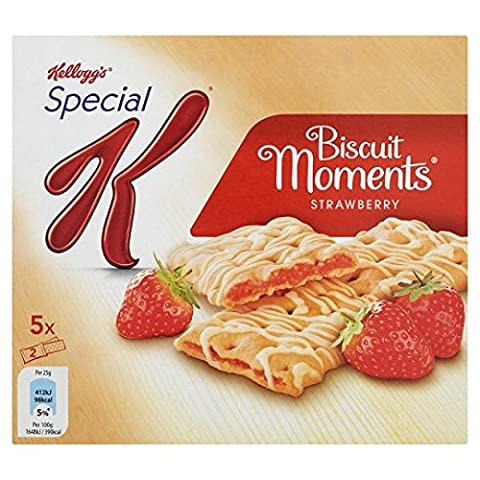 Kellogg's Special K Biscuit Moments Strawberry X 10 125G by