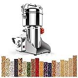 Electric Coffee Grinder//el/éctrica molinillo de caf/é Molinillo de caf/é el/éctrico EFK 300W Acero inoxidable moler Espresso Molinillos r/ápido y pimienta para granos de caf/é pimienta Nueces Especias cereales