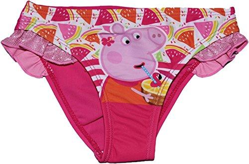 Peppa pig -  costume intero  - ragazza fuschia 6 anni