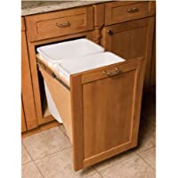 Omega National Dual Waste & Recycle, 18 Base Cabinet by National