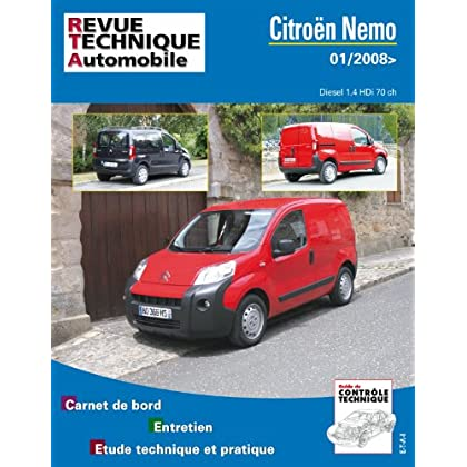 Citroën Nemo Diesel 1.4 HDi 70ch (01/2008>)