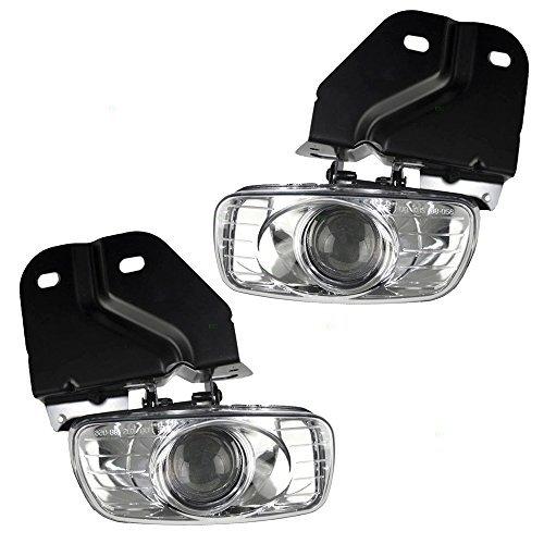 Fahrer und Beifahrer Nebelscheinwerfer Lampen Ersatz für Cadillac GMC SUV 1503483715034838