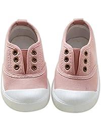 Carcassi A Collo Basso Unisex per bambini, (White/Pink/Silver), 37 EU
