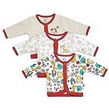 #7: FS Mini Klub boys 100% cotton knit pack of 3 front open vest
