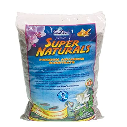 Carib Sea ACS05839 Super Natural Sunset Gold Sand for Aquarium, 5-Pound 1