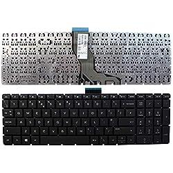 Keyboards4Laptops HP Home 15-bs074nf Noir Windows 8 Layout Royaume-Uni Clavier pour Ordinateur Portable (PC) de Remplacement